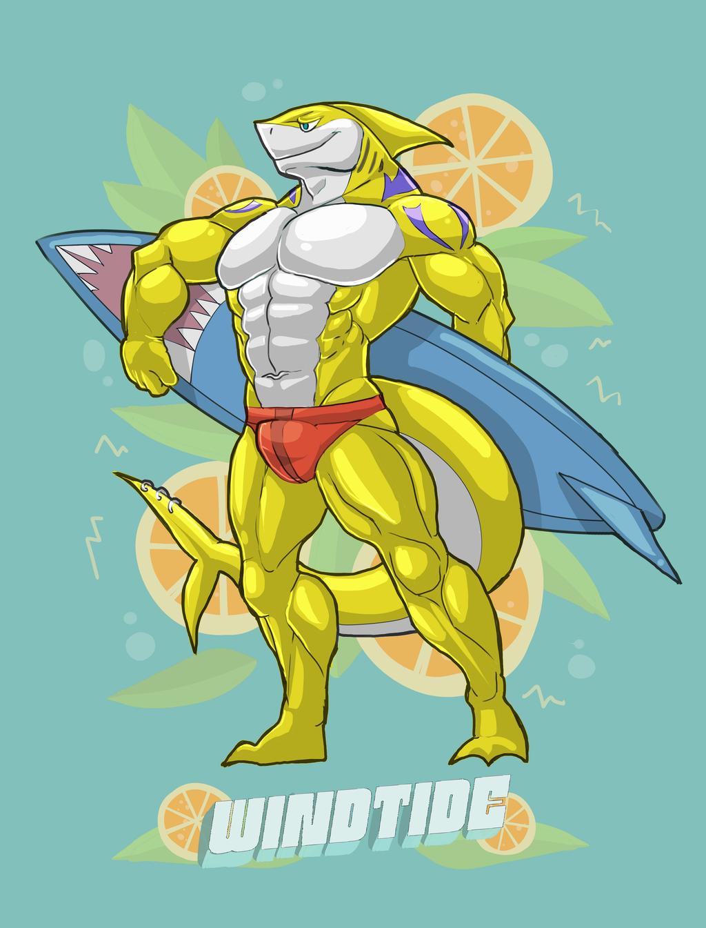 Lemon Surfer (Wind)