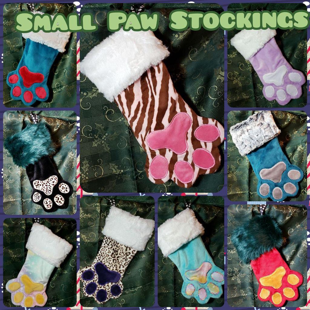 Small Paw Stockings