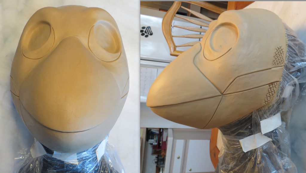 Finished Bird Sculpt