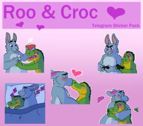 Rooty & Croc - Telegram Sticker Pack