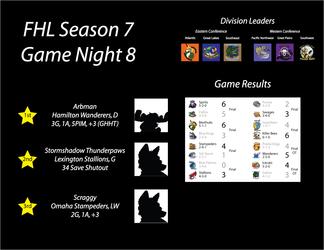 FHL Season 7 Game Night 8