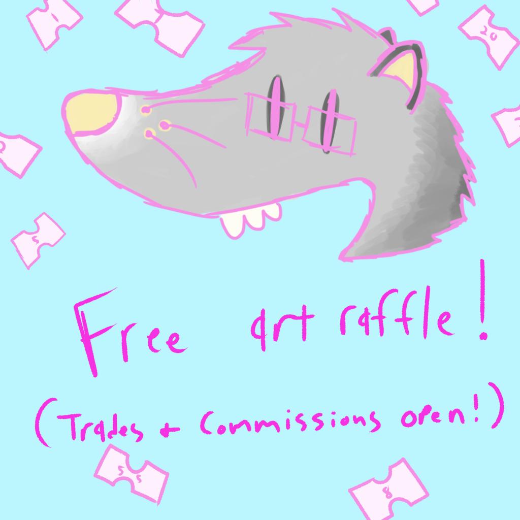 Free art raffle!