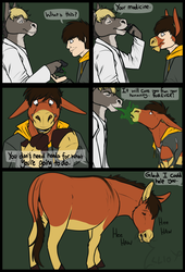 Donkeysona TF Comic