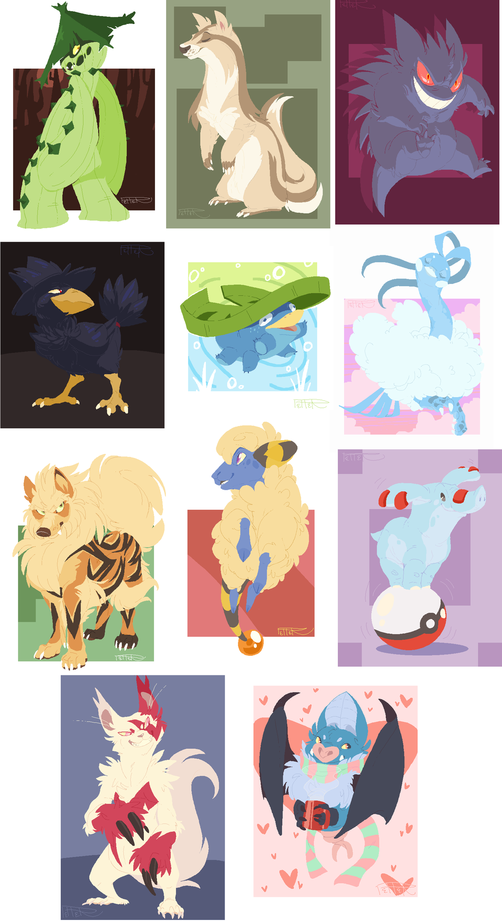 """""""what's your favorite pokemon?"""""""