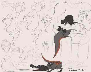 Savina Sketches 1