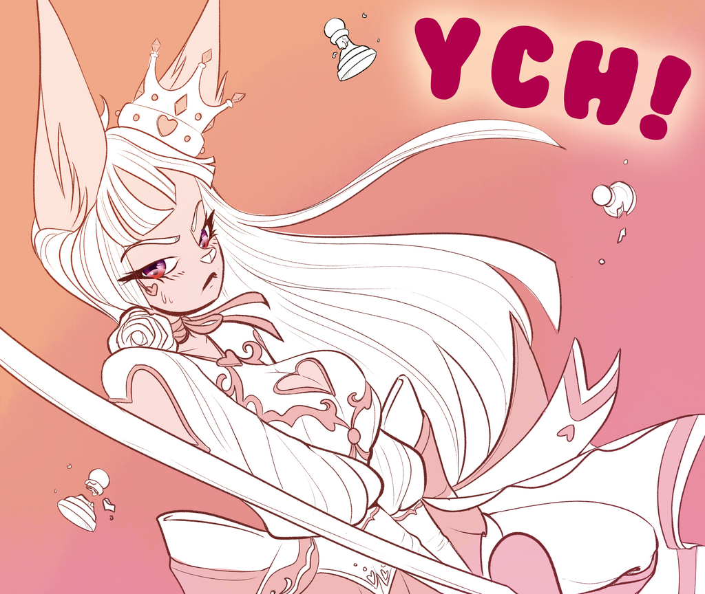 Queen Of Hearts YCH Reminder!