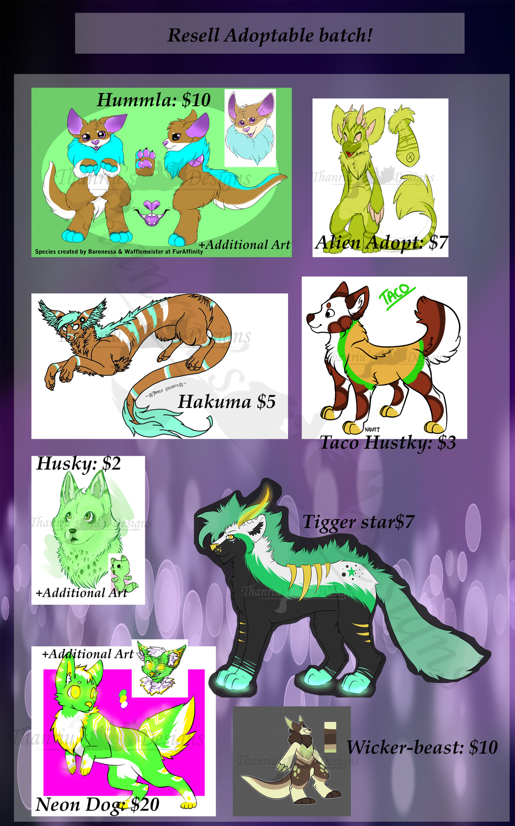 Resell Adoptable Batch! -emergency!- [8/8 Open!]