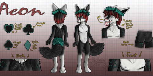 29.99 commission for reference sheet