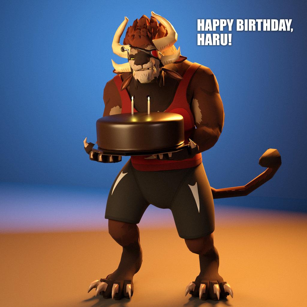 Happy Birthday, Haru!