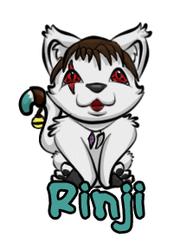 Rinji Chibi Badge