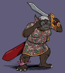Ruthie, Badass Bugbear Battlegranny