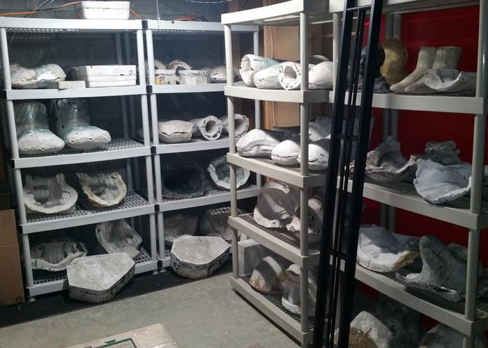 New mold room, first look