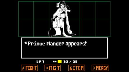 *Prince Mander appears!
