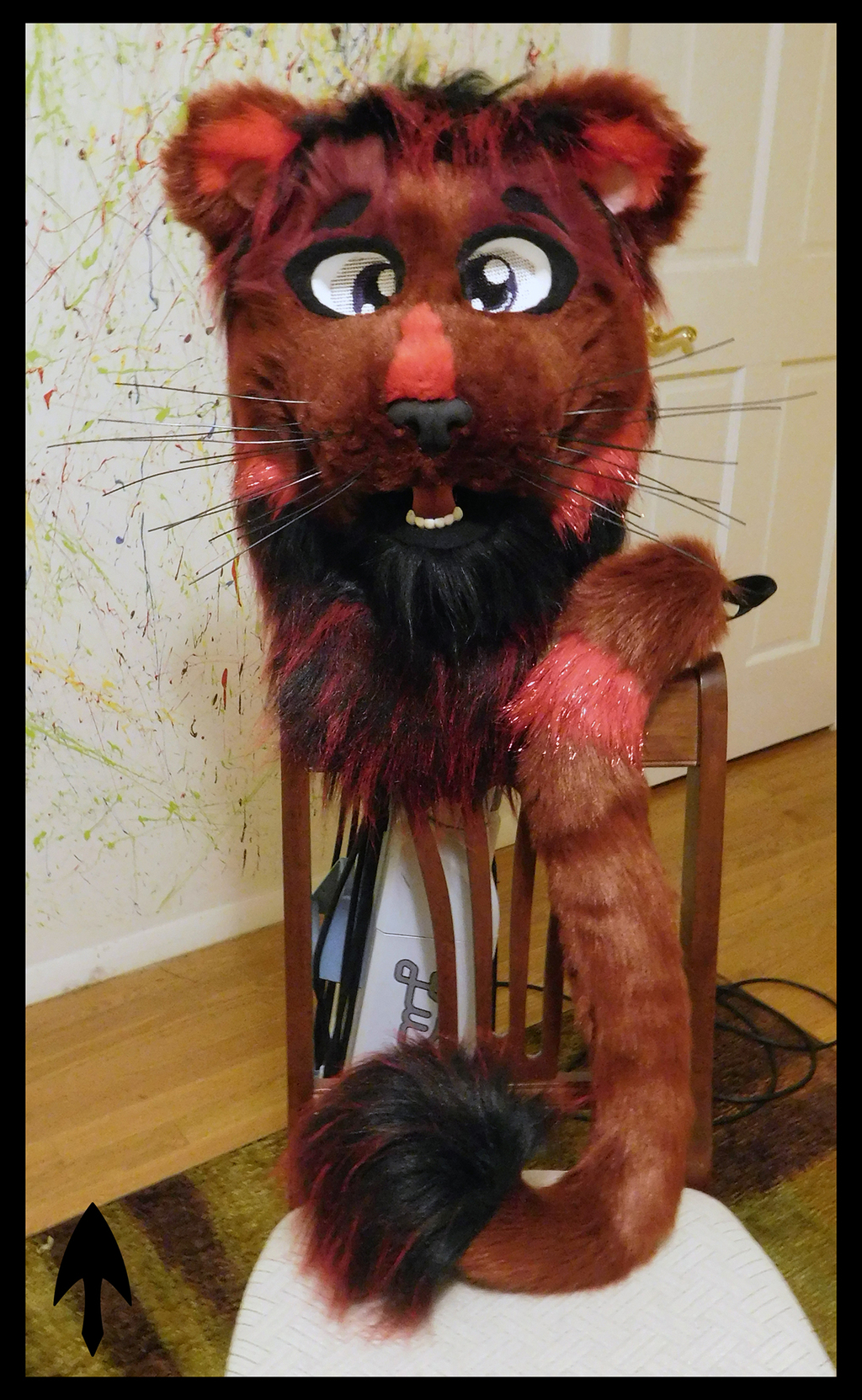 Most recent image: Red Lion Head and Tail FOR SALE