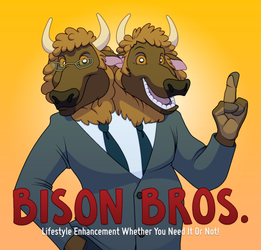Introducing the Bison Bros.