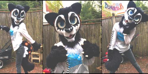 Mizuki Cat Partial Fursuit