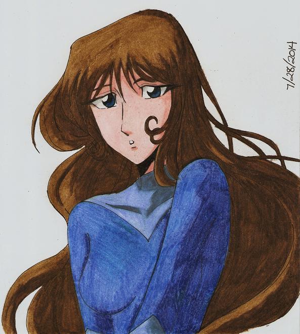 Startled Ida