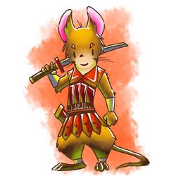 Mouse Swordsman