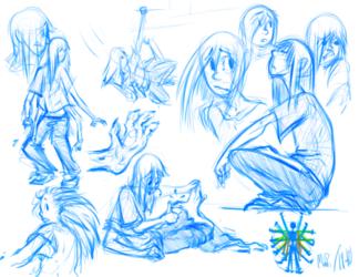 Friday sketch study