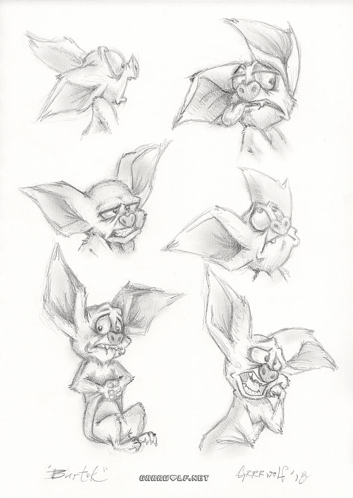 Most recent image: Bartok Sketches