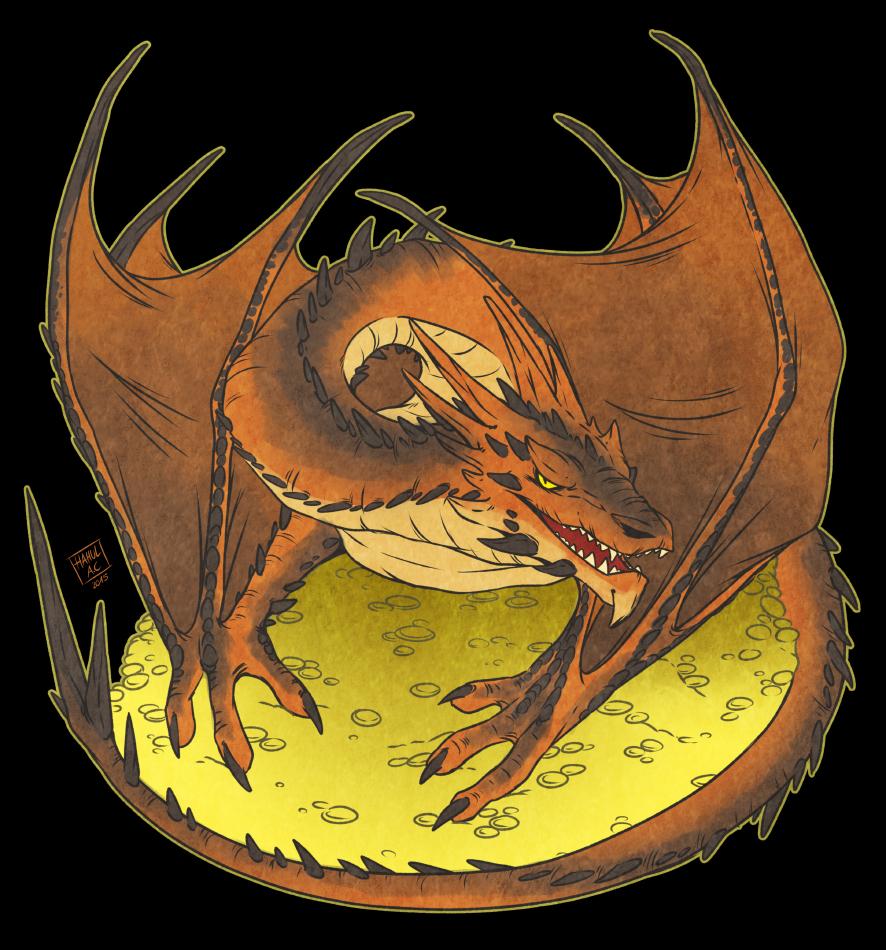 Smaug, the Terrible