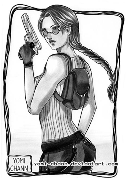 Most recent image: Lara Croft (for sale)
