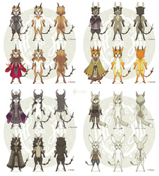 Characters of Snow and Cinder 1-4