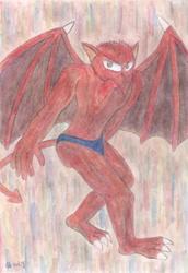 Dark Red Gargoyle