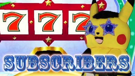 Mascot Pikachu Fursuiting: 777 Subscriber Special