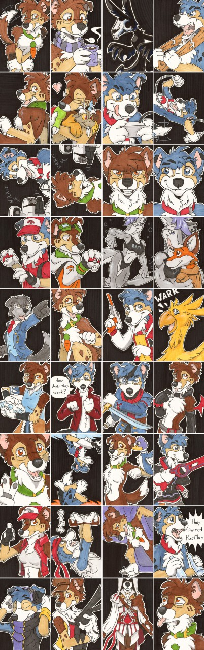 MFF 2014 art cards