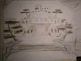 WtV: WIP: Village Eldest Palace; Shaded