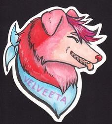 Velveeta Badge