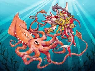 Abyssmegalo vs Kraken