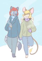 [commission] winter walkin'