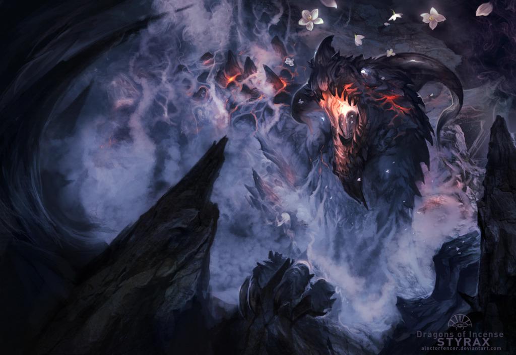 Dragons of Incense - Styrax