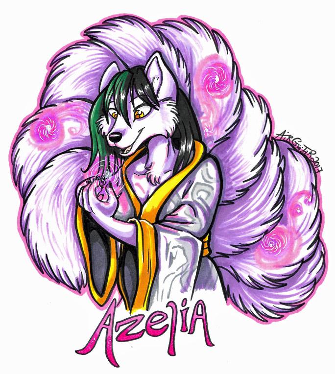 Bust Badge - Azelia