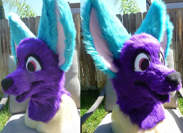 Sale: Purple/Blue Head