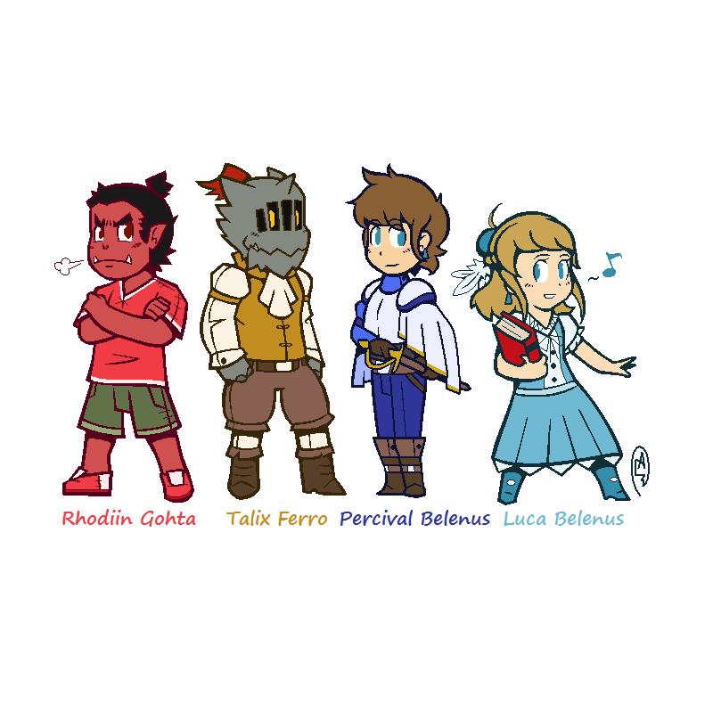Talix and Crew (Children)