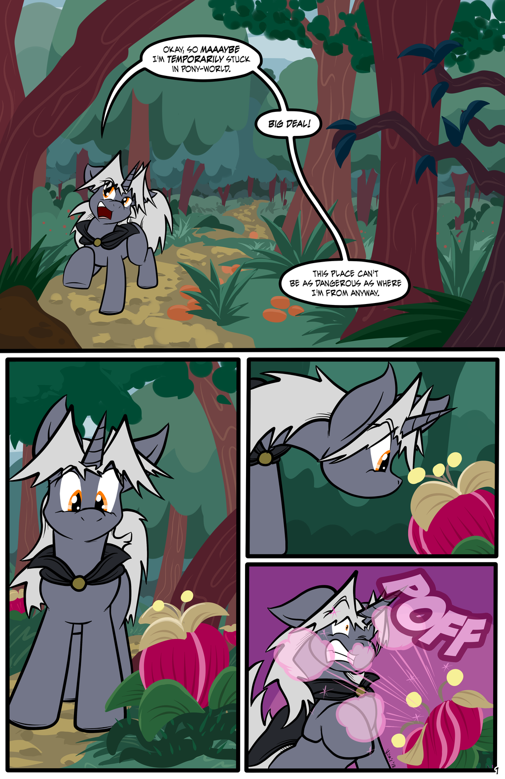 Nature Walk, page 1