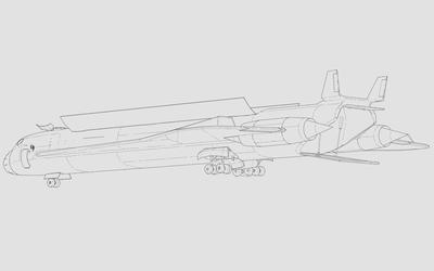 TSL-3 Transport w/out Mission Extender Rear