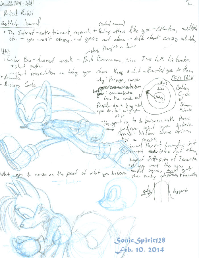 Sonic and Tails and My Notes