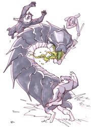 September Draw A Werewolf Day