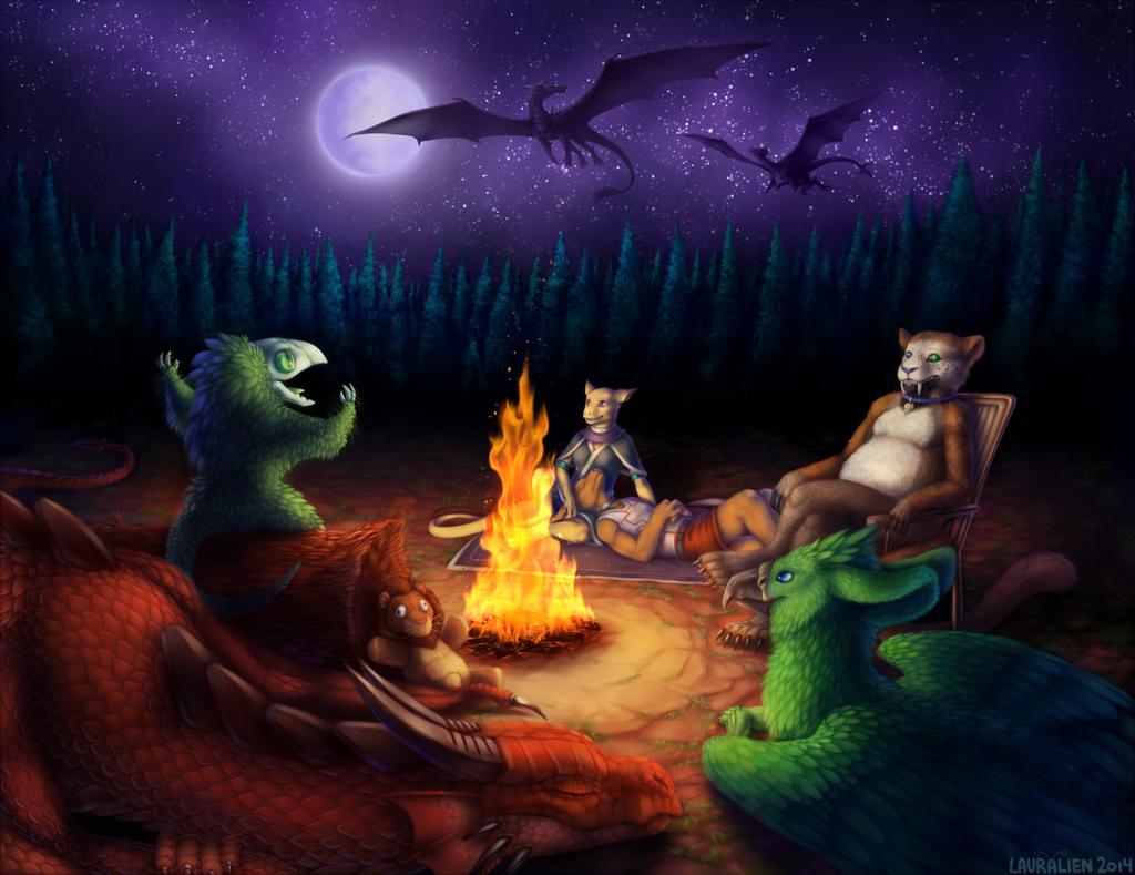 Commission - Summer Nights