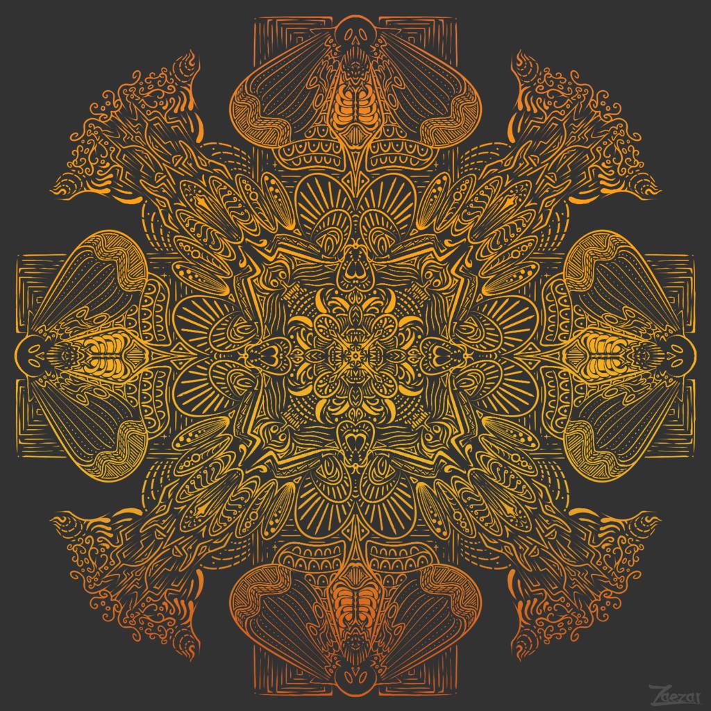 Hawkmoth Mandala