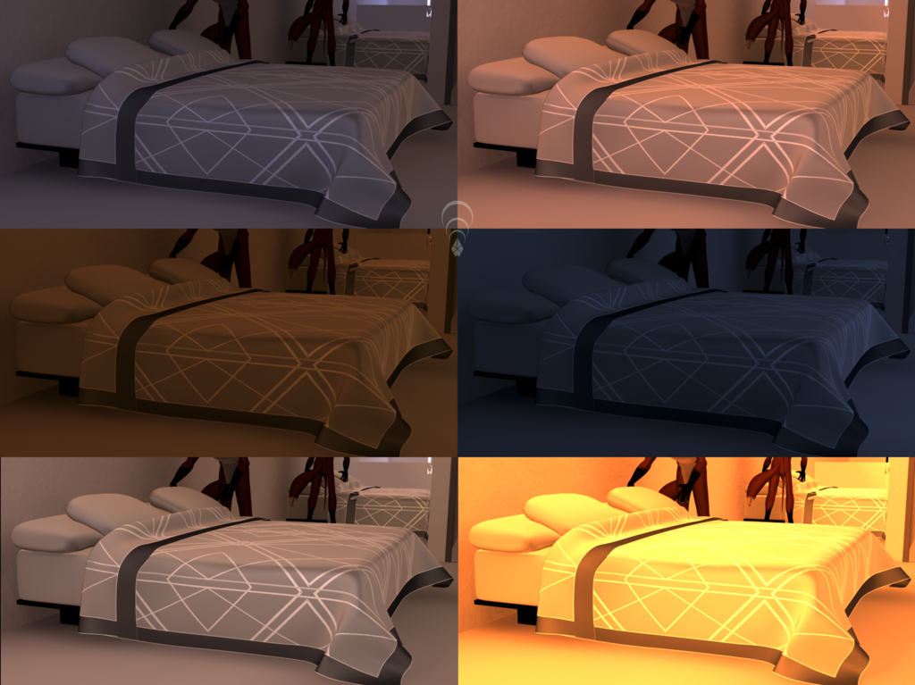 Most recent image: Apartment WIP: Bed Tested in Lighting