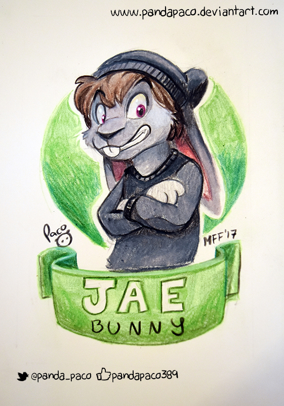 Jae Bunny badge