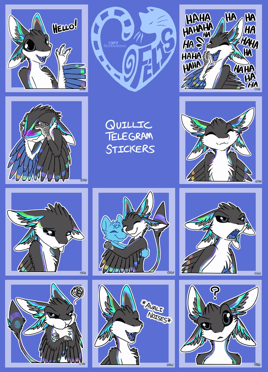 Quillic Telegram Stickers