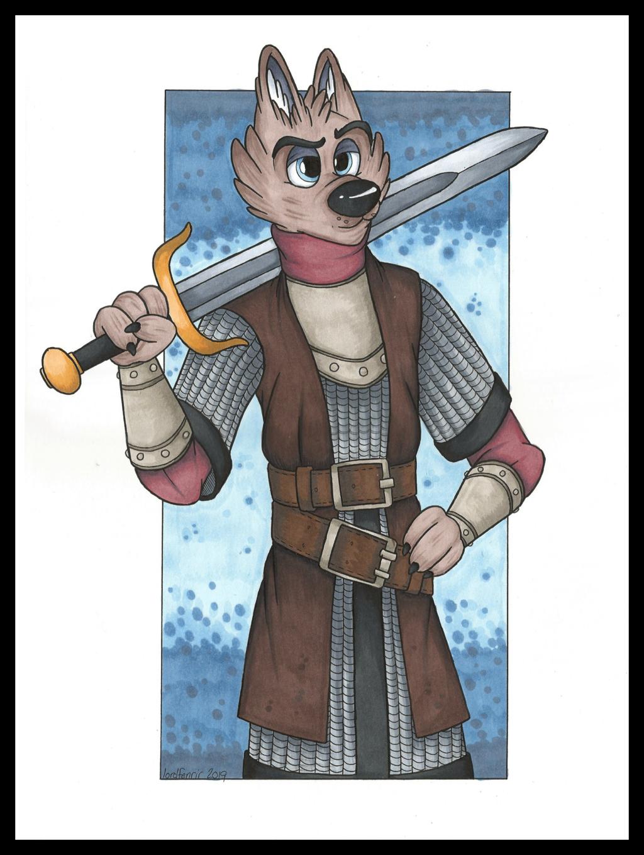 Wolf Sellsword