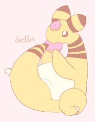 ampharos but the orbs are donuts