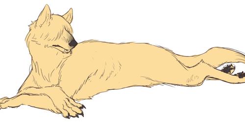Blond Werewolf